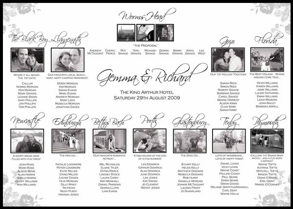 Click here for more wedding seating plans