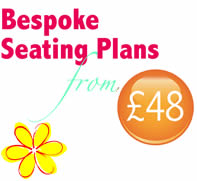 Wedding Seating Plans from £48